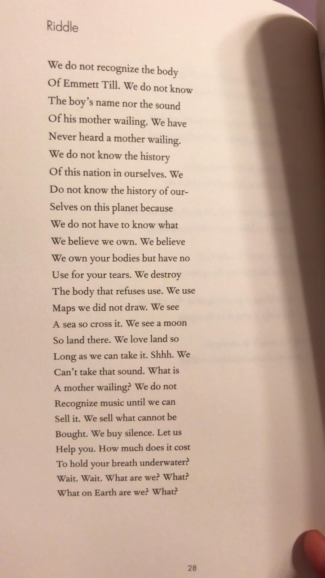 Poems in April