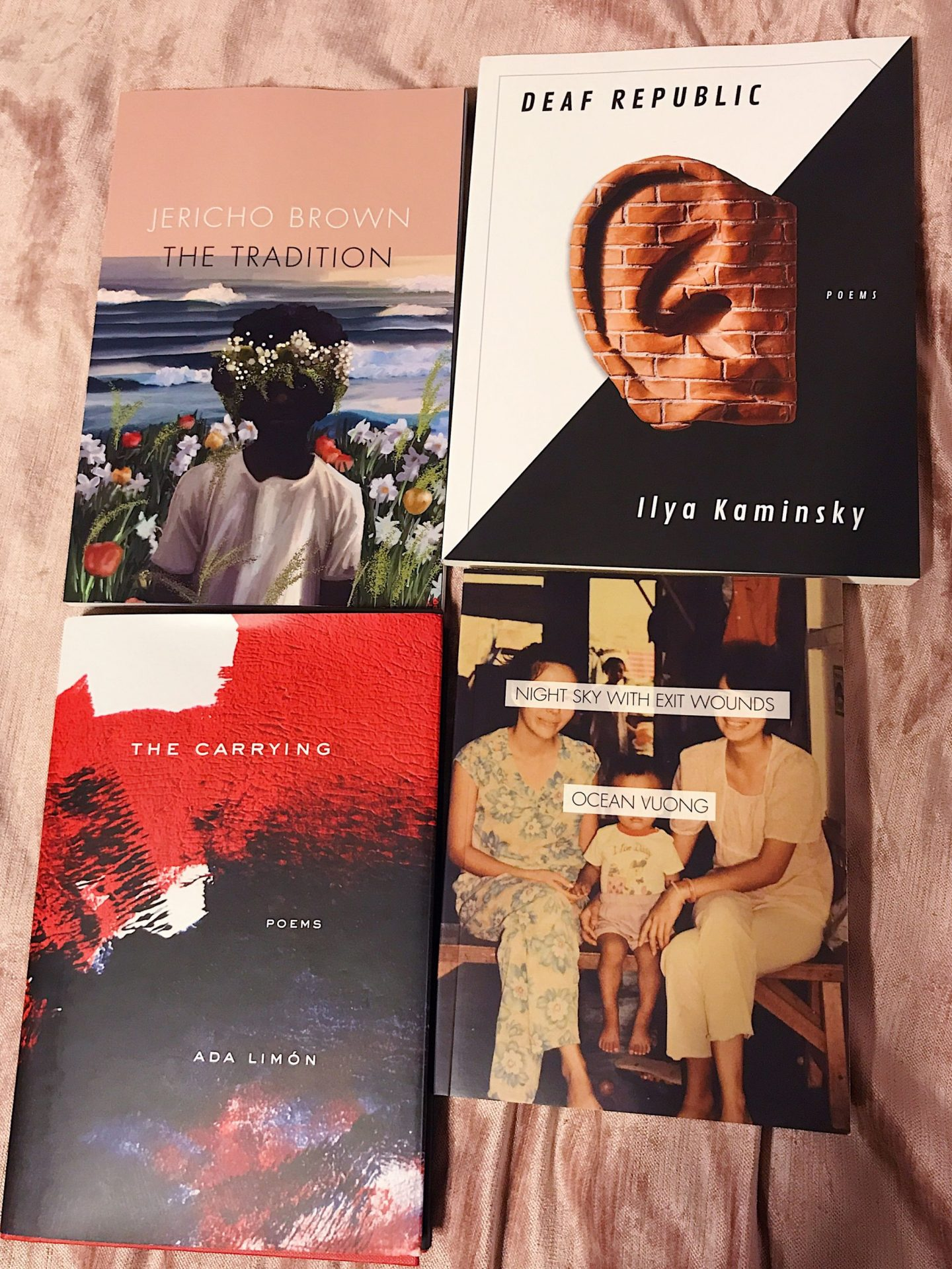 Books from my poetry wish list