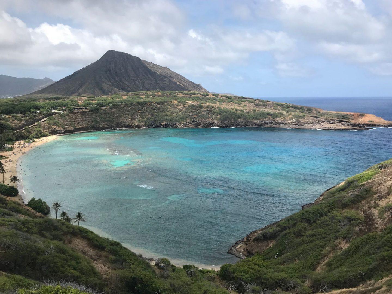 Hānauma Bay on Papahānaumoku
