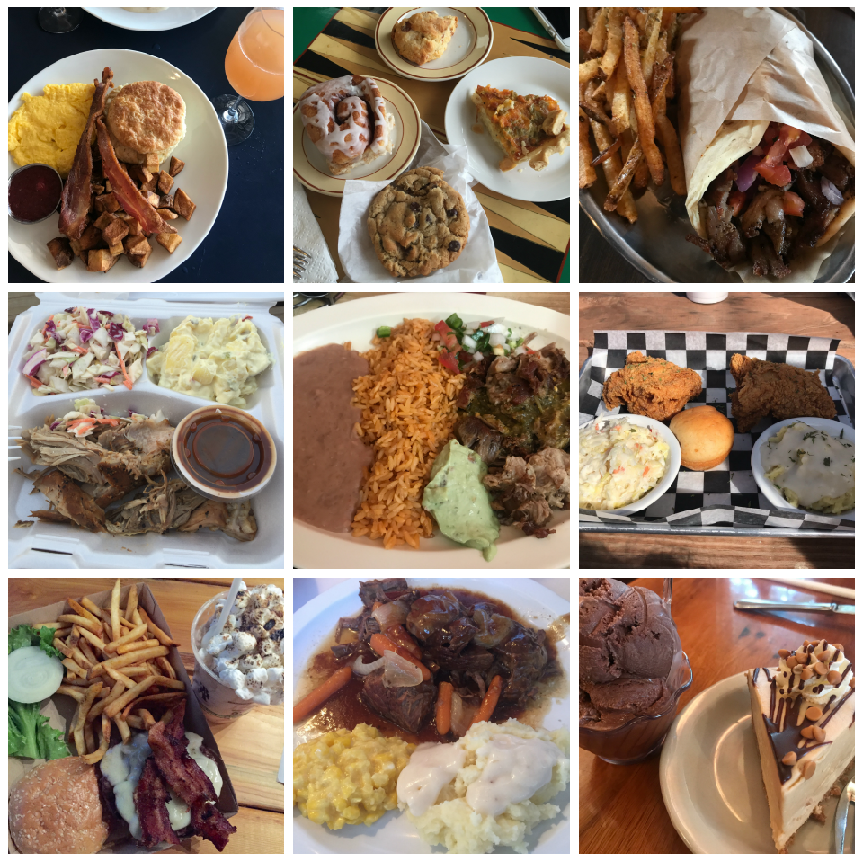 The best foods in Waco