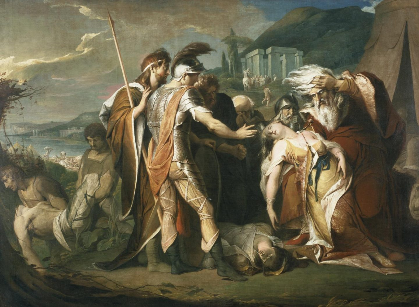 King Lear painting
