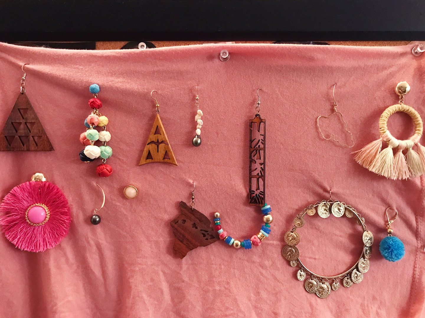 My collection of earrings