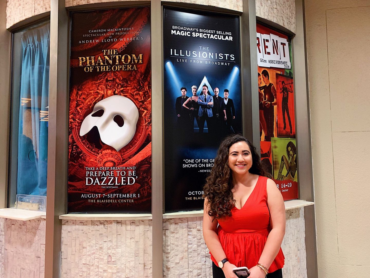 Me at Phantom of the Opera
