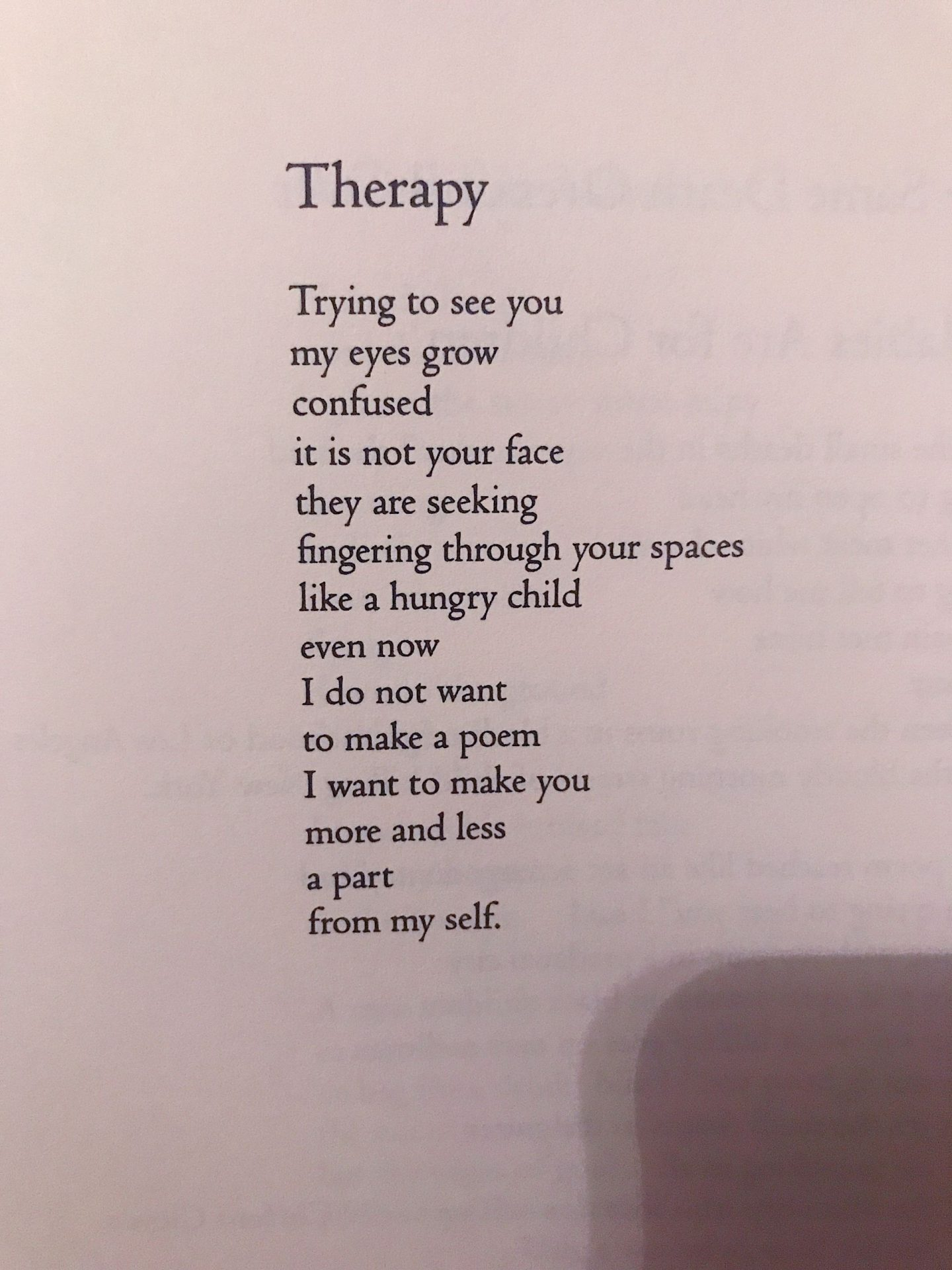 Poems in Septembver