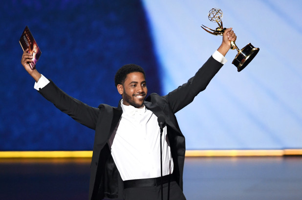 Jharrel Jerome at the Emmys