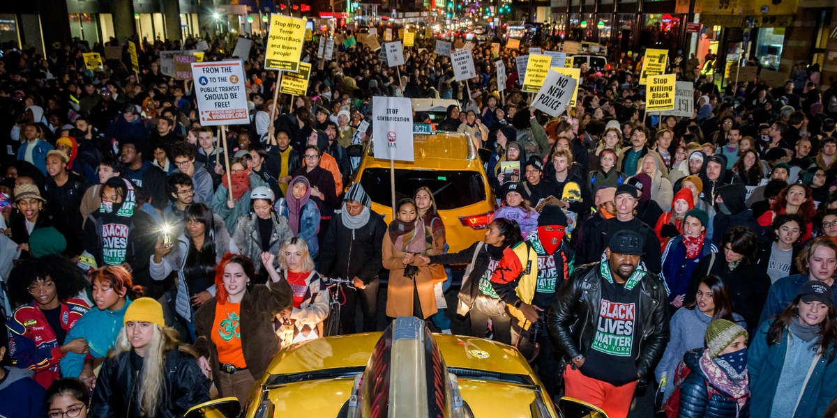 Transit protest