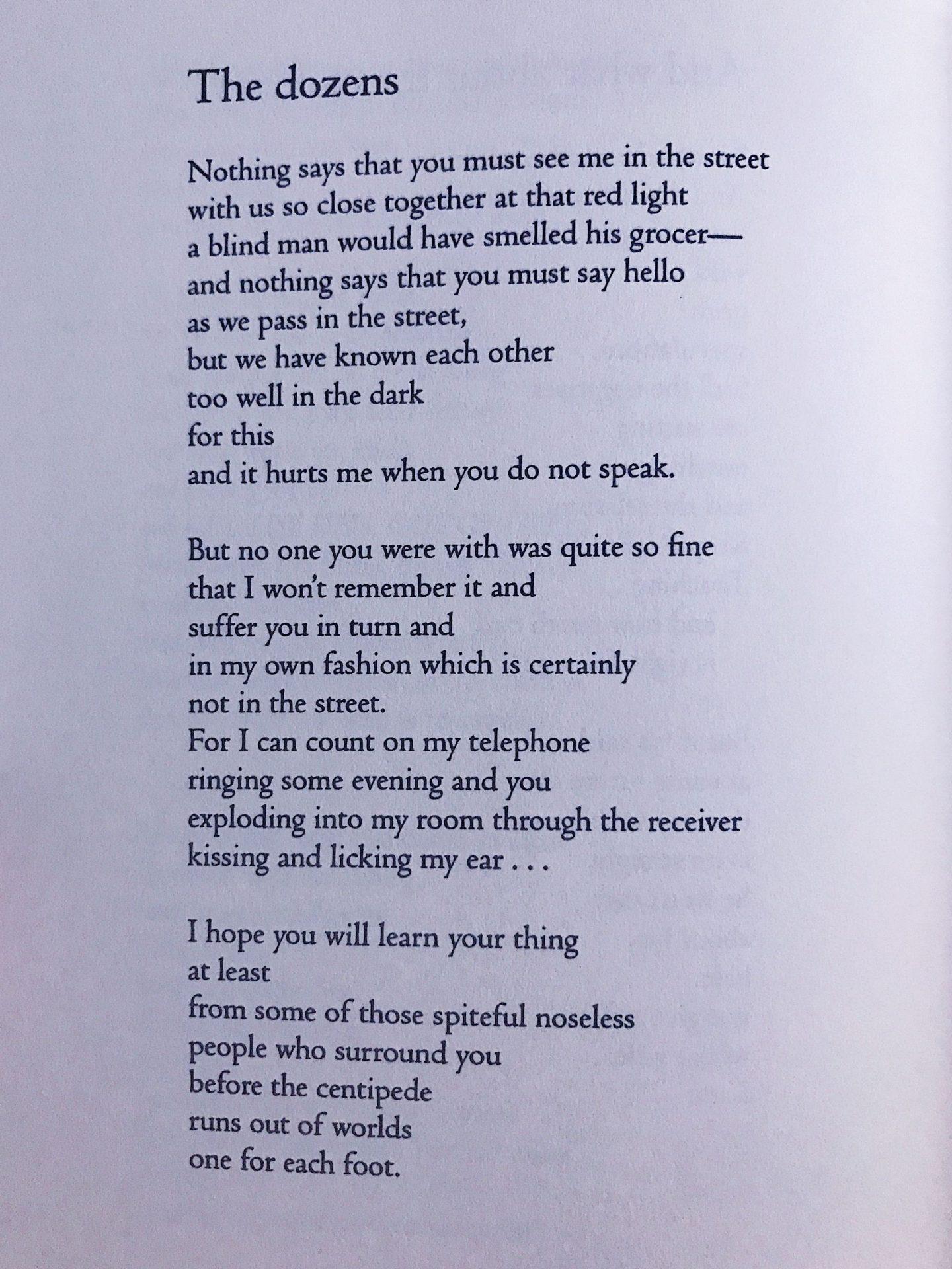 Poems in November
