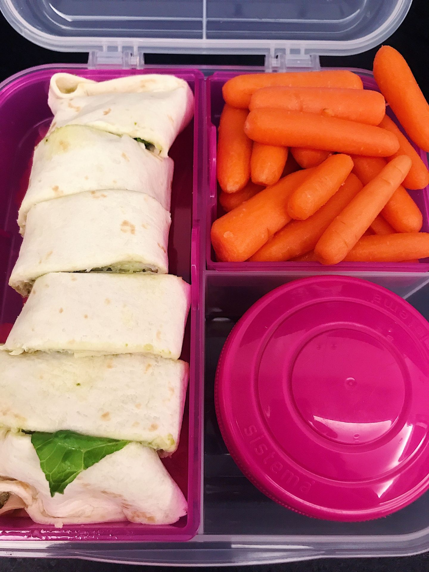 One of my four lunches