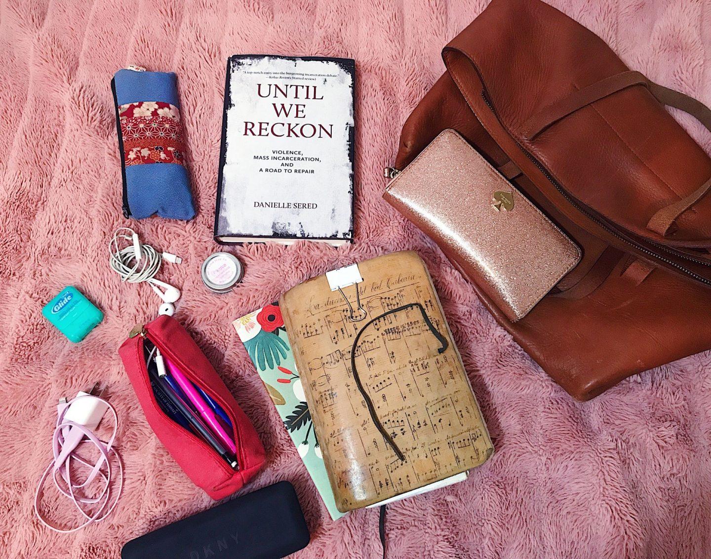Work bag contents