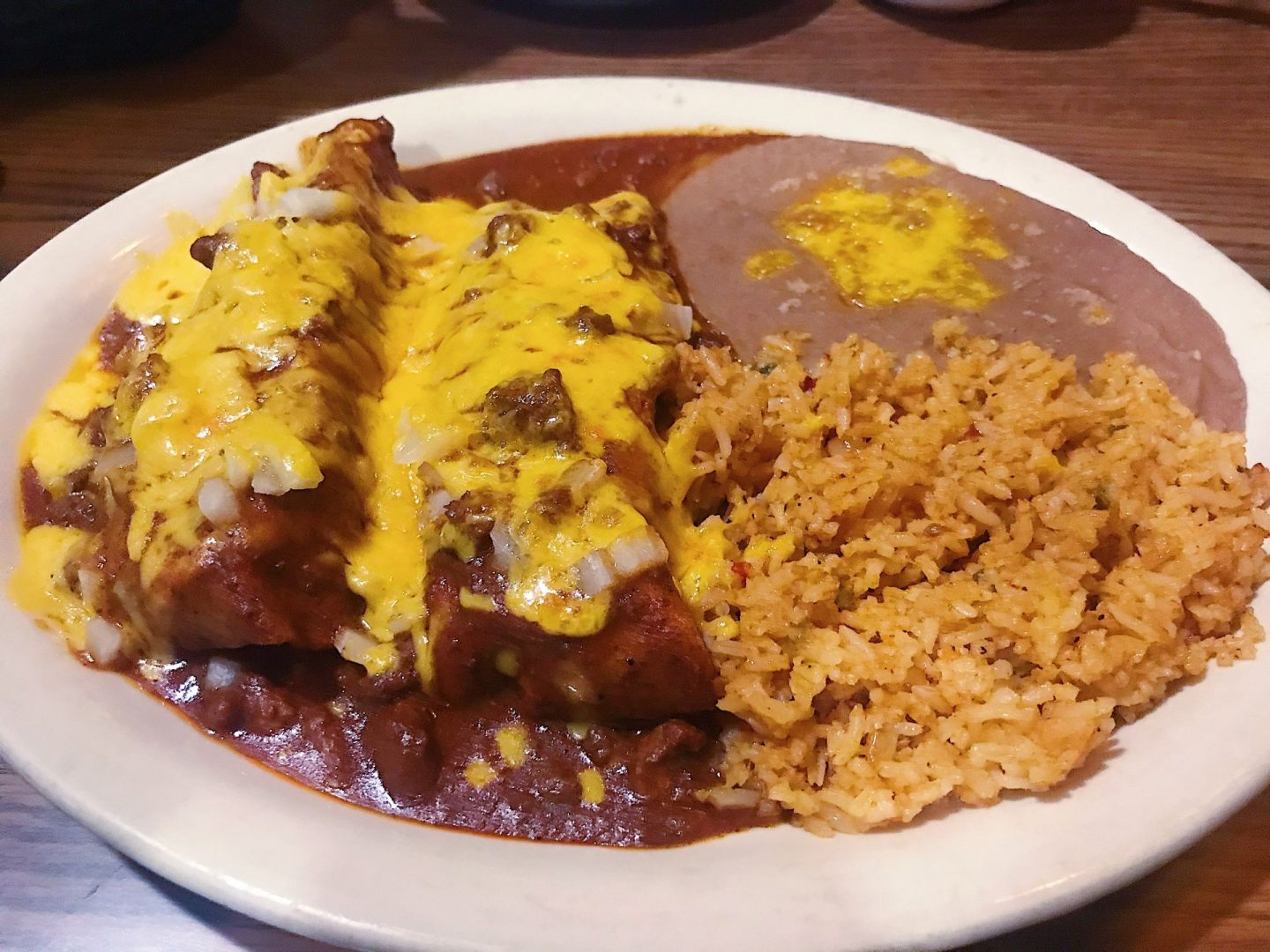 One of my favorite Mexican meals on days four and five