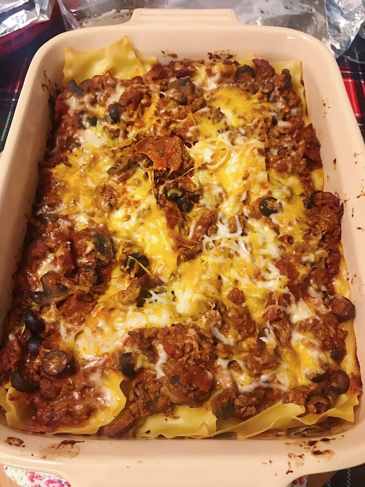Lasagna by mom