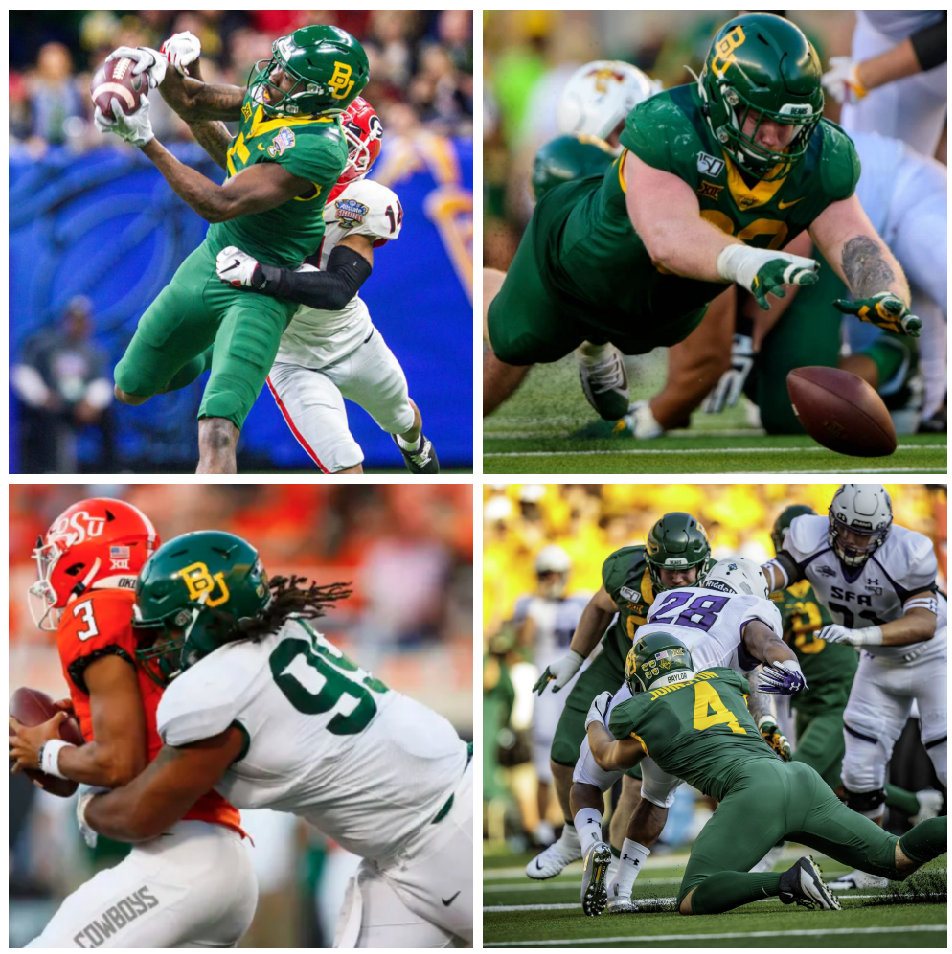 Baylor football in the 2020 NFL Draft