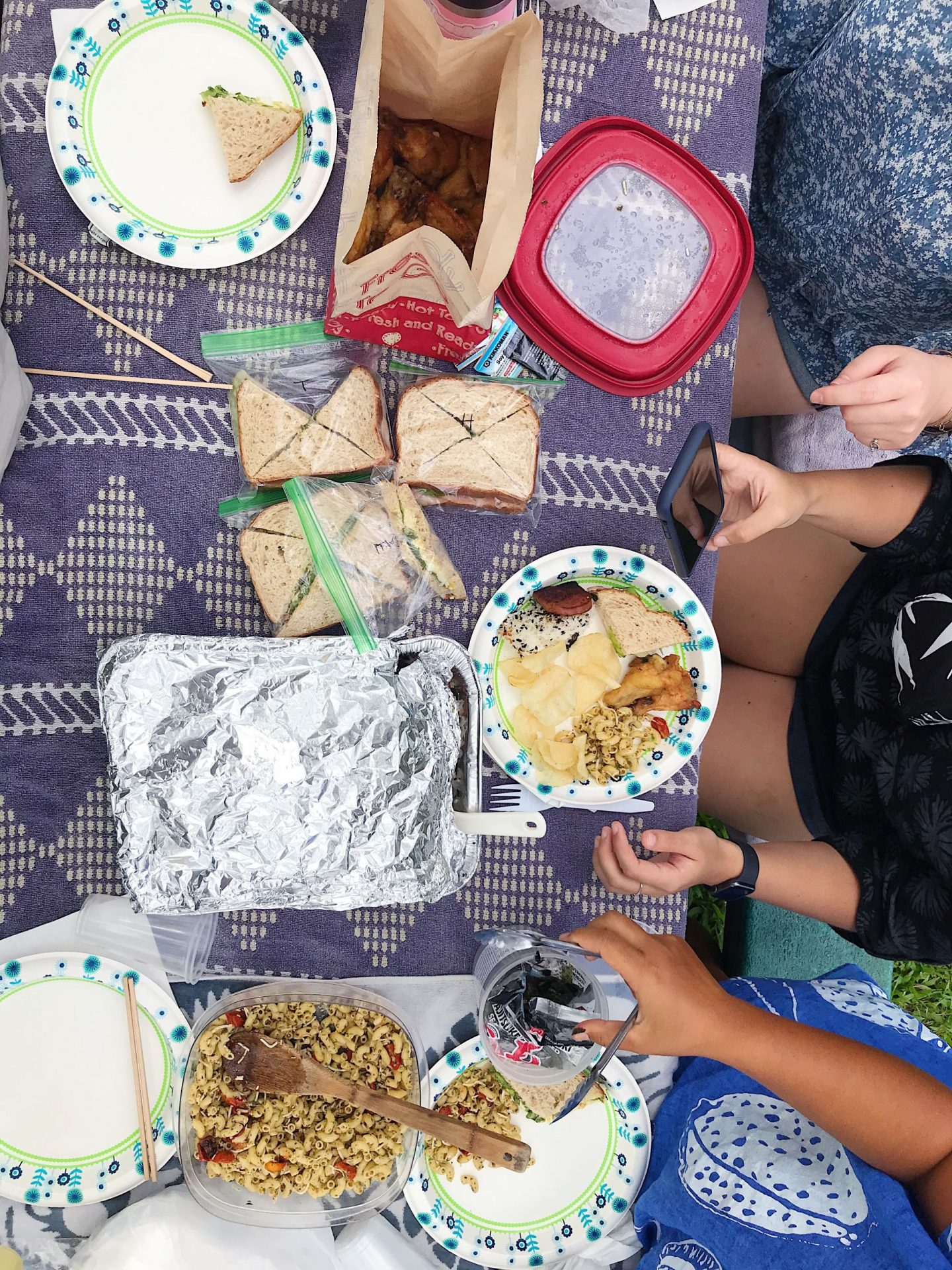 The ultimate birthday picnic spread