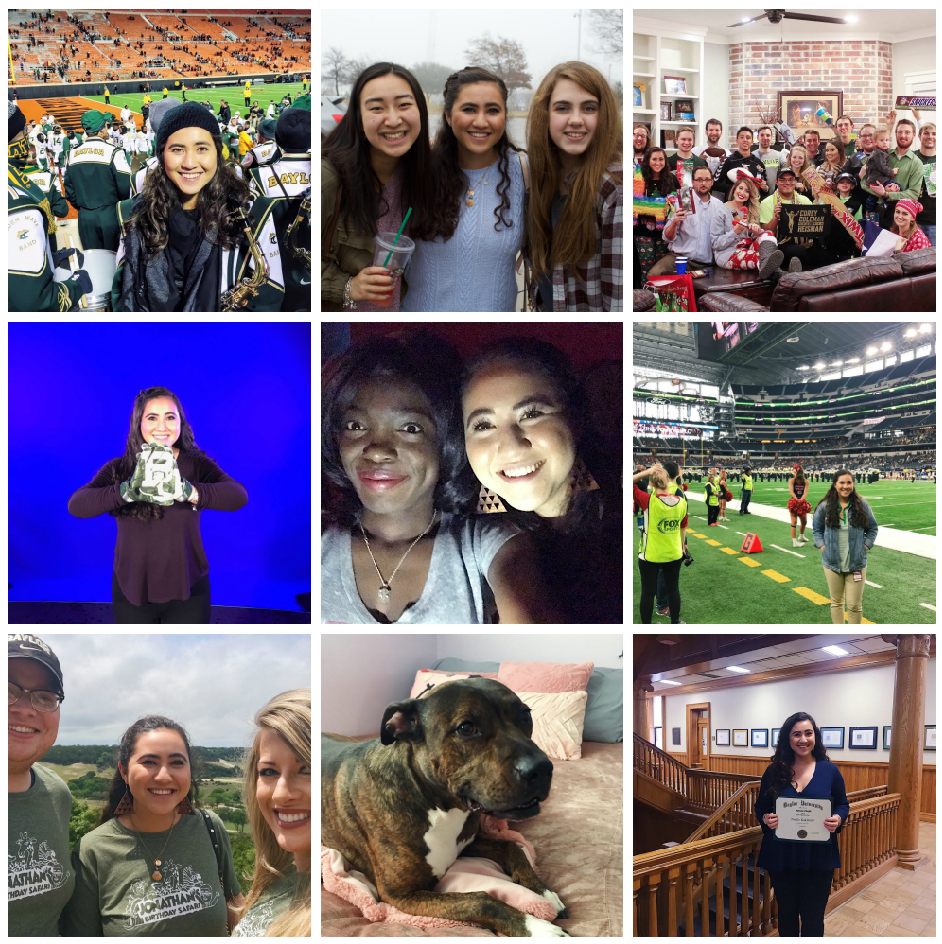 9 of 10 special memories at Baylor