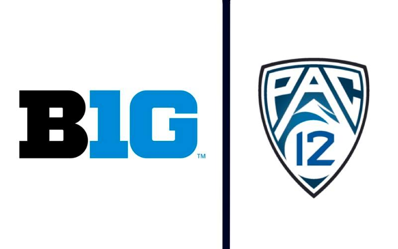 Big 10 and Pac-12