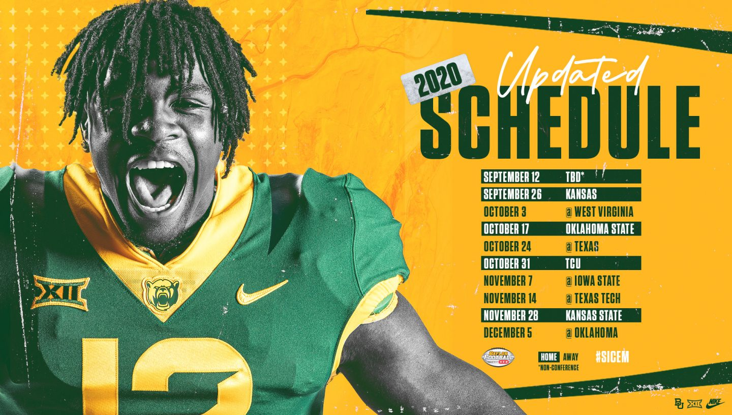 Baylor football schedule