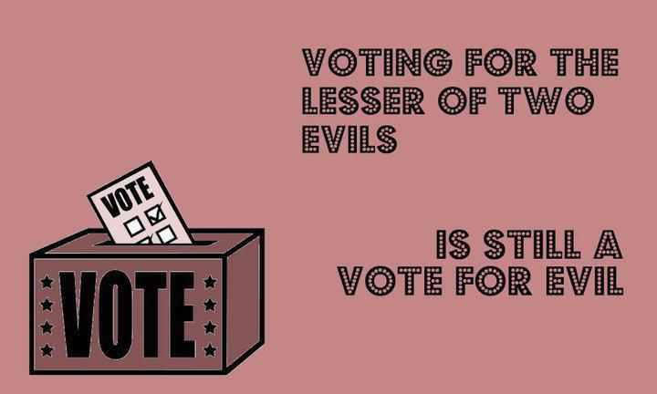 Not voting in 2020