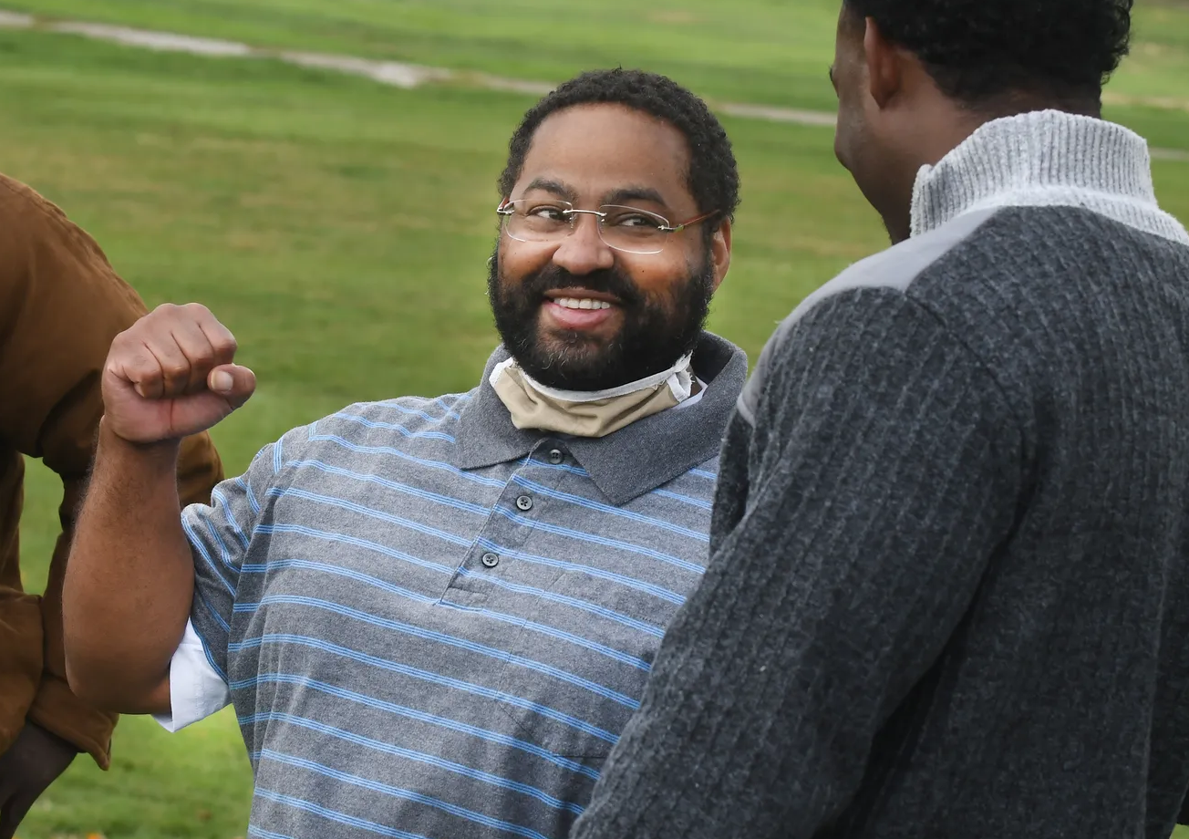 Lacino after his release
