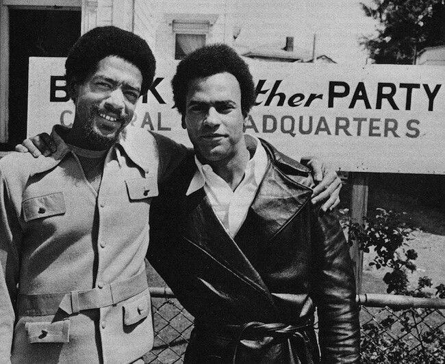 The first Black Panthers—Huey P. Newton and Bobby Seale