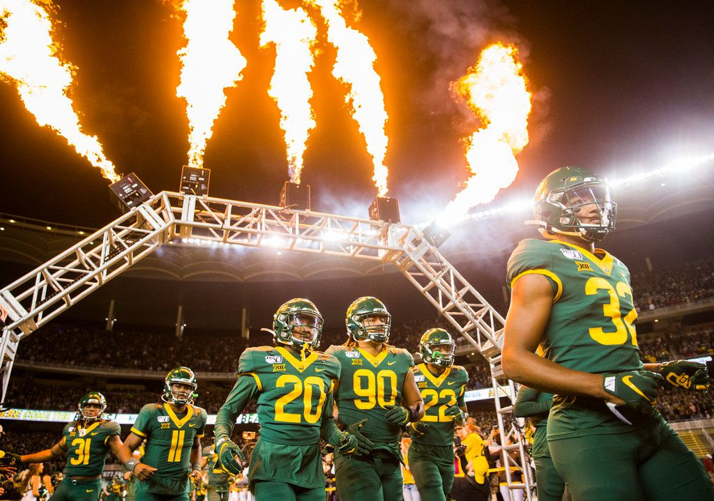 Baylor football is temporarily suspended