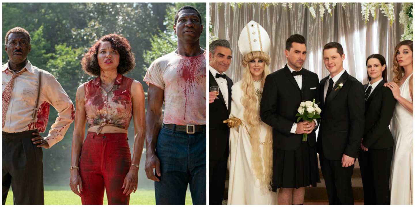 Lovecraft Country and Schitt's Creek