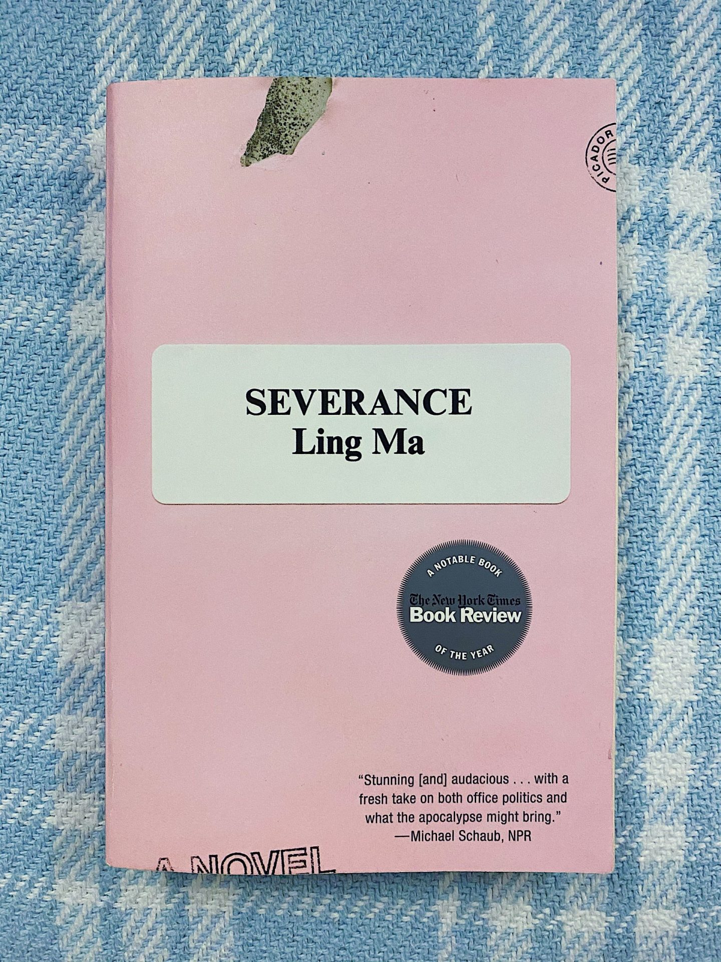 Severance by Ling Ma