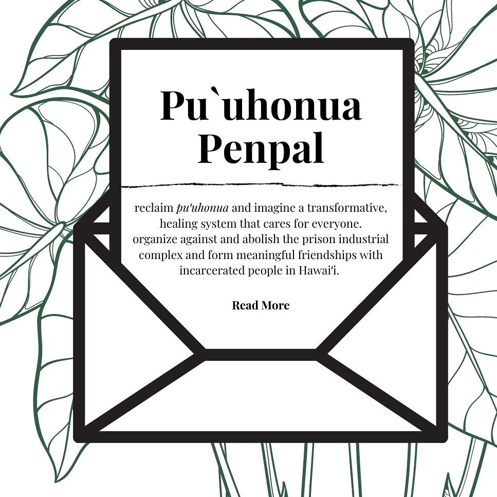 The puʻuhonua penpal program