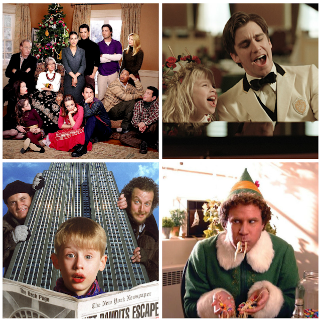 My four favorite holiday movies