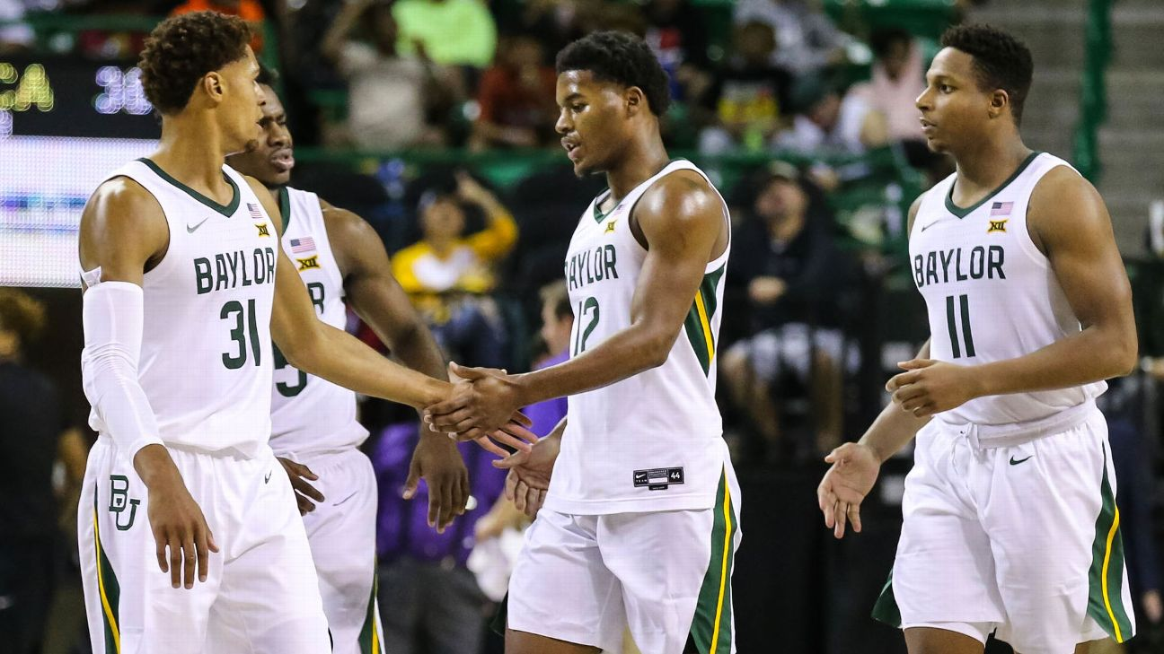 Baylor MBB is undefeated