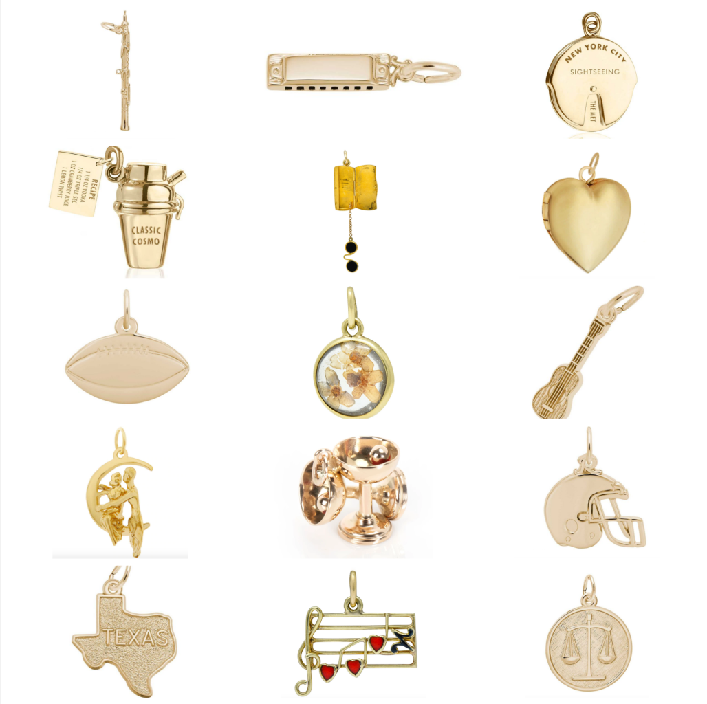 Charms for the perfect charm bracelet
