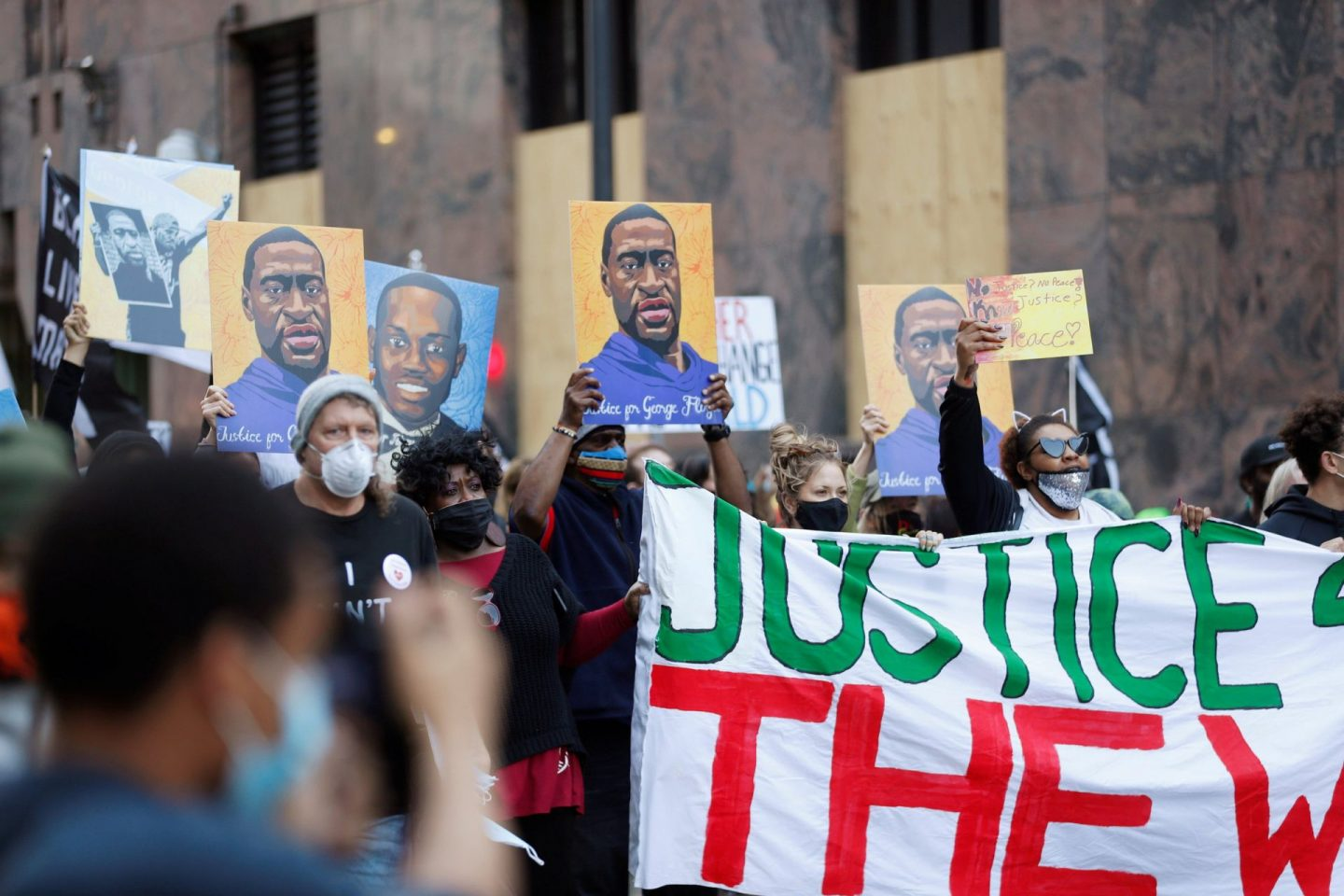 No justice for George Floyd while policing exists