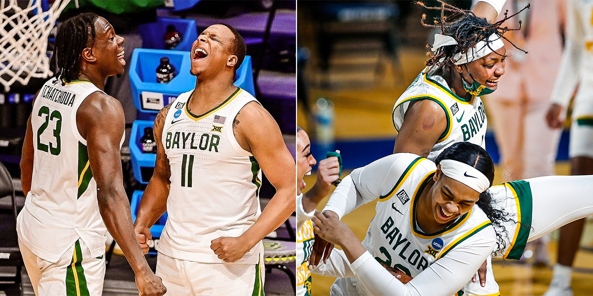 Baylor MBB and WBB in Elite Eight