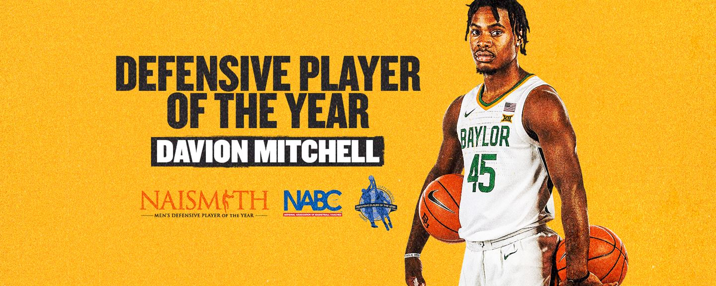 Davion Mitchell is defensive player of the year