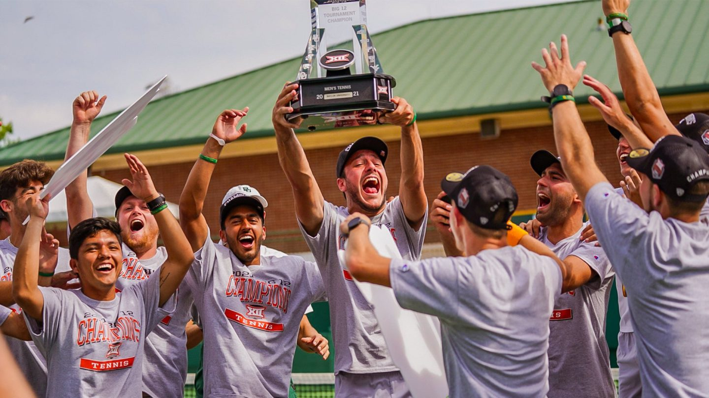 Men's Tennis Wins Big 12 Title