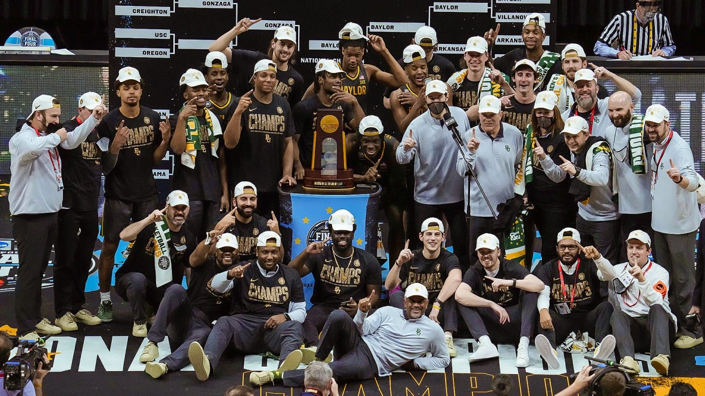Baylor MBB wins national title