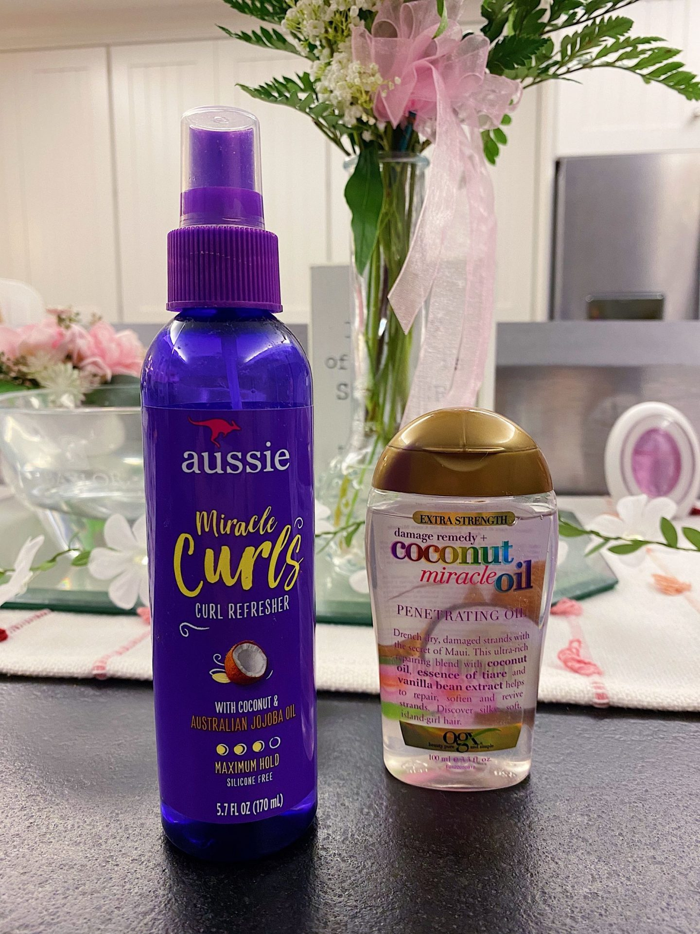 My favorite curl refresher products