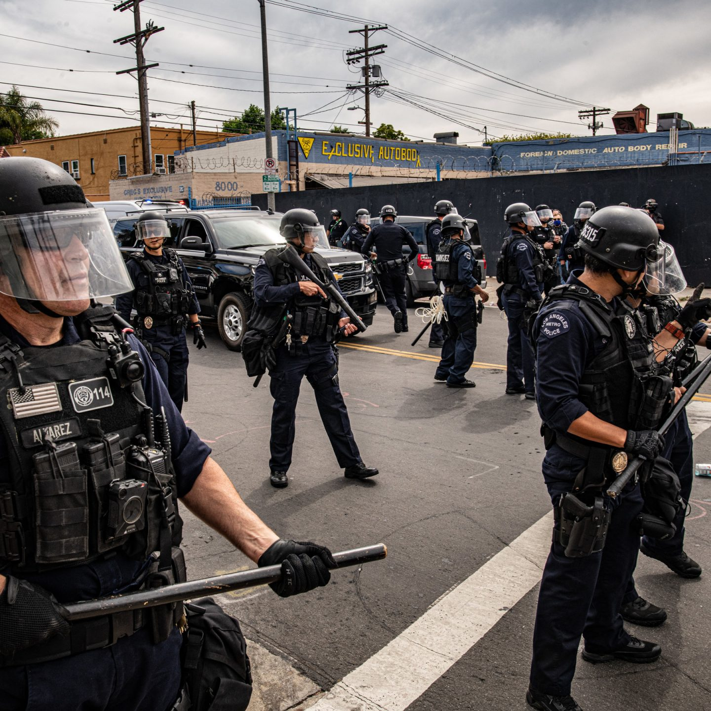 Violence of policing