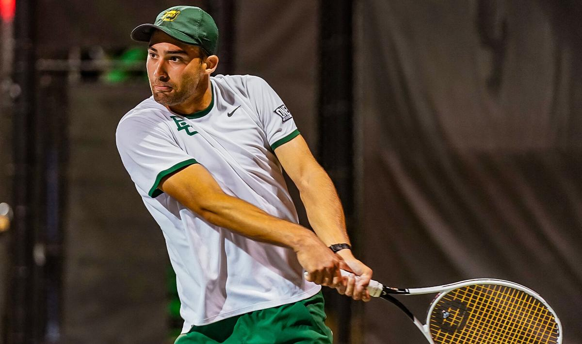 Adrian Boitan of Baylor Men's Tennis