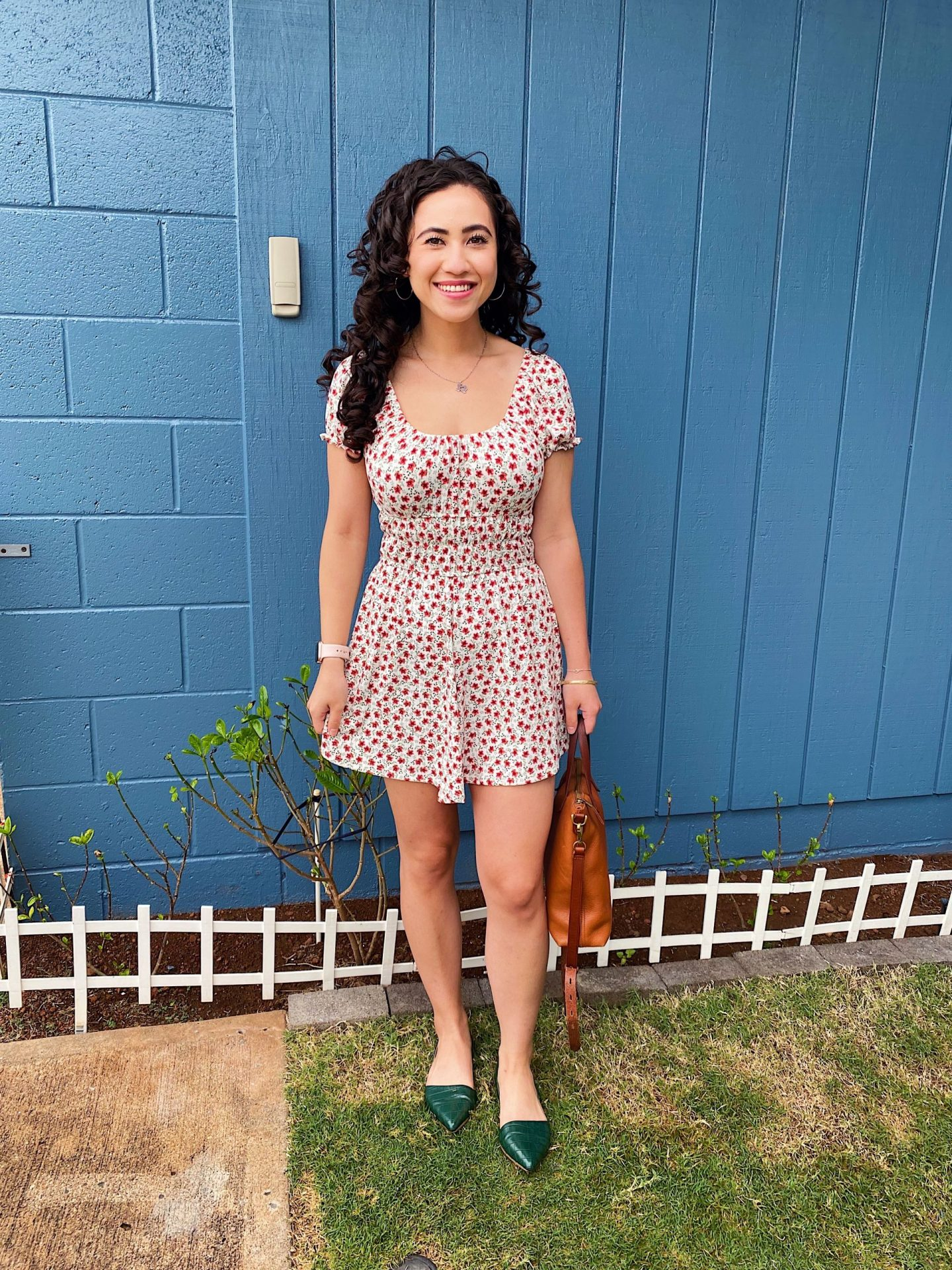 The perfect spring to summer romper