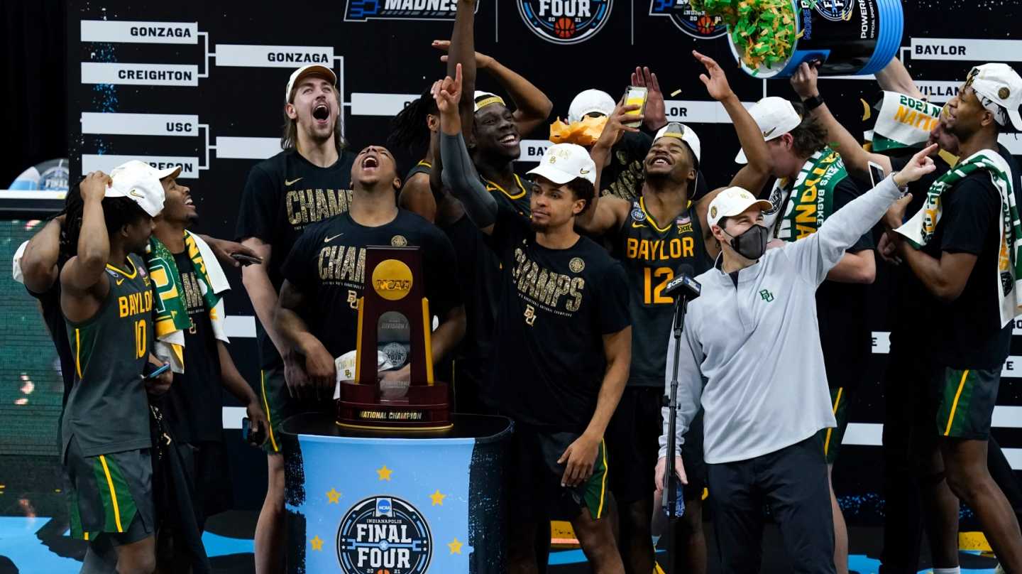 Two months since Baylor MBB won the national title