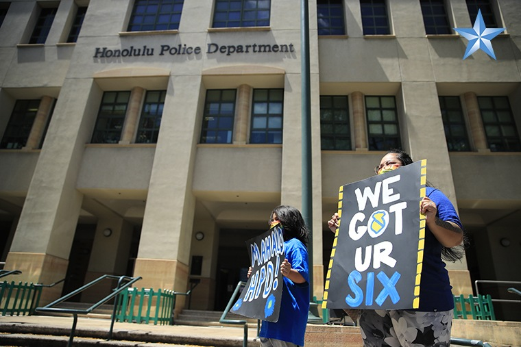 Another rally of Hawaiʻi's love for HPD