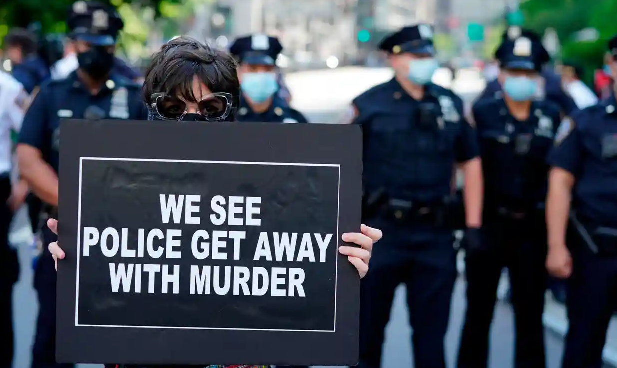 Murder is what police actually do