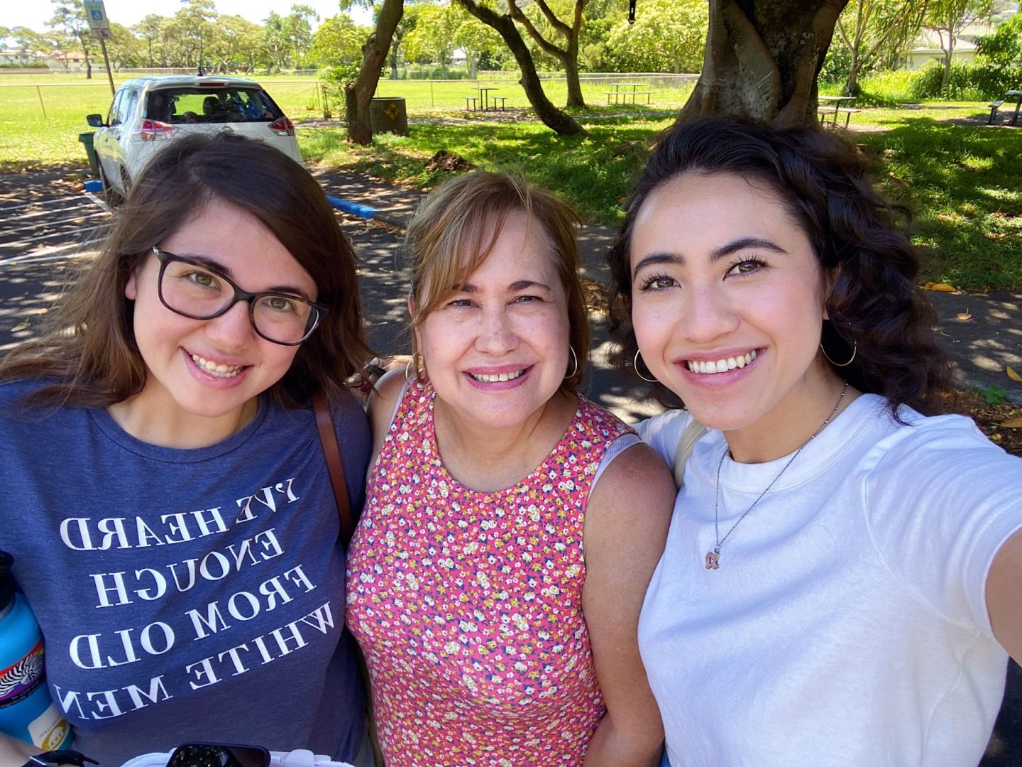 Daughters and mom